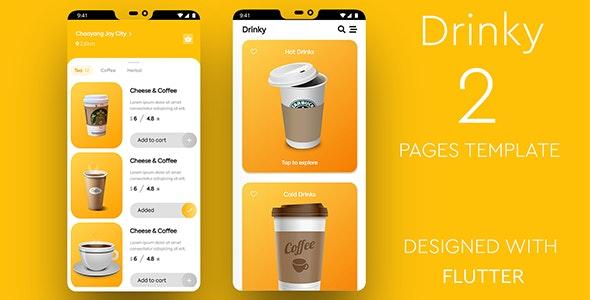 Drinky---Flutter-Cafe-Order-App