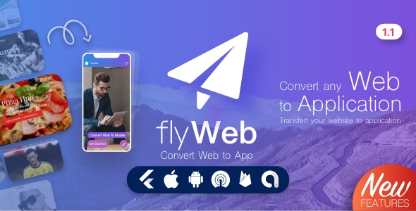 FlyWeb-for-Web-to-App-Convertor-Flutter---Admin-Panel