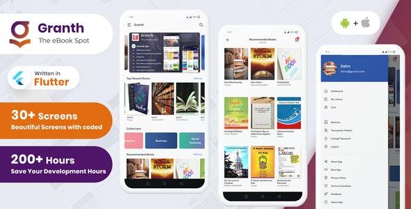 Granth---Flutter-Ebook-App---Admin-panel