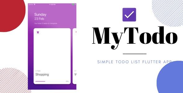 MyTodo--Todo-List-Flutter-App