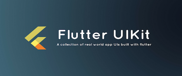 Flutter app for collection of UI in a UIKit