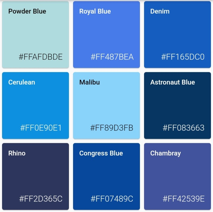 Random color generator for Flutter
