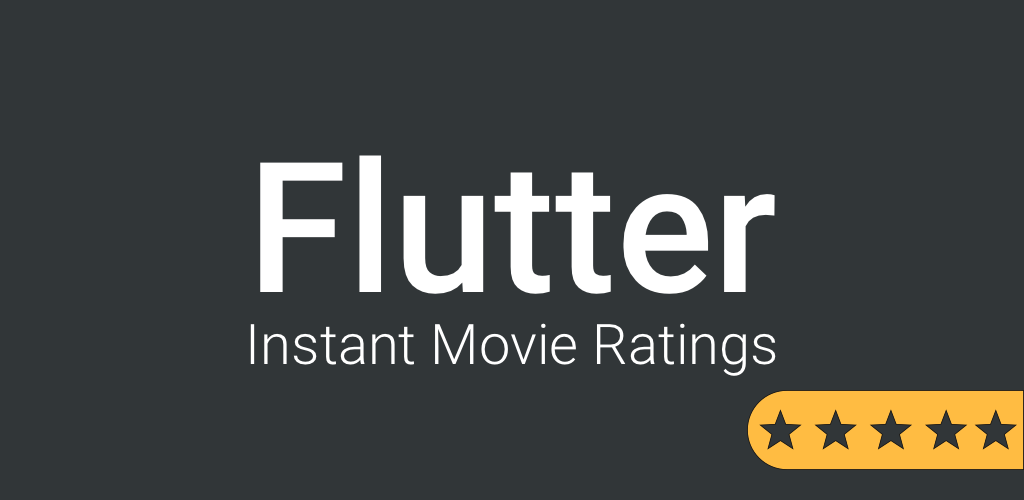 Show movie ratings when browsing Netflix and Amazon Prime Video with Flutter