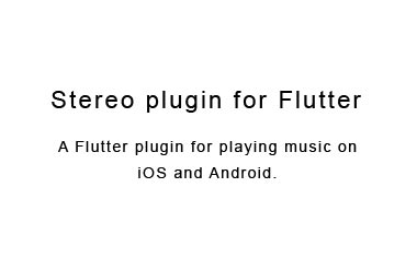 A Flutter plugin for playing music on iOS and Android