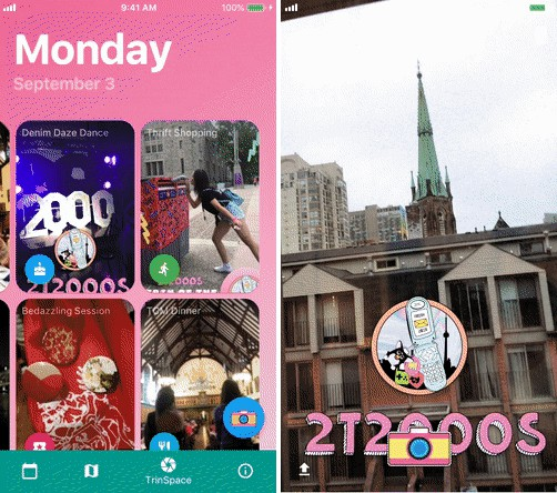 An app for orientation week at Trinity College University of Toronto