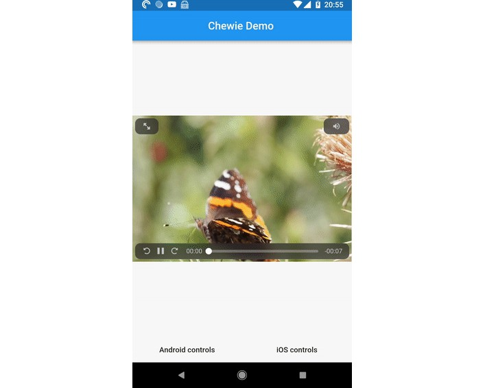 The video player for Flutter with a heart of gold