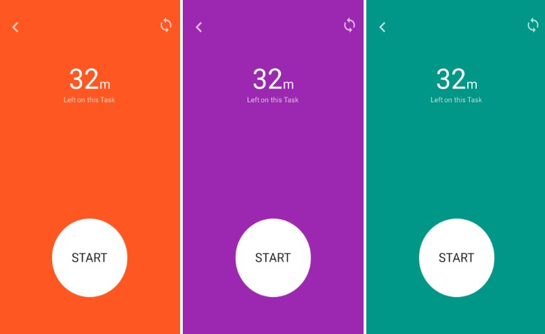 A Timer app made with Flutter