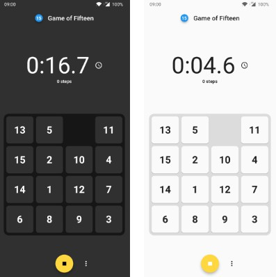 The Game of 15-puzzle written with Flutter