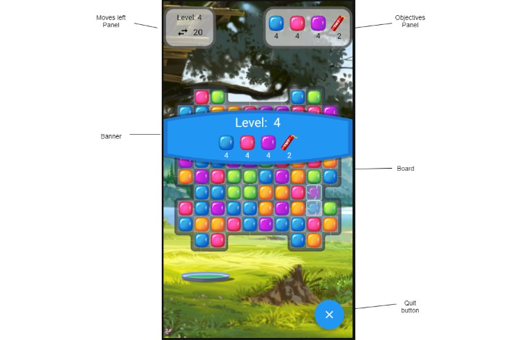 A Match-3 game like Candy Crush in Flutter