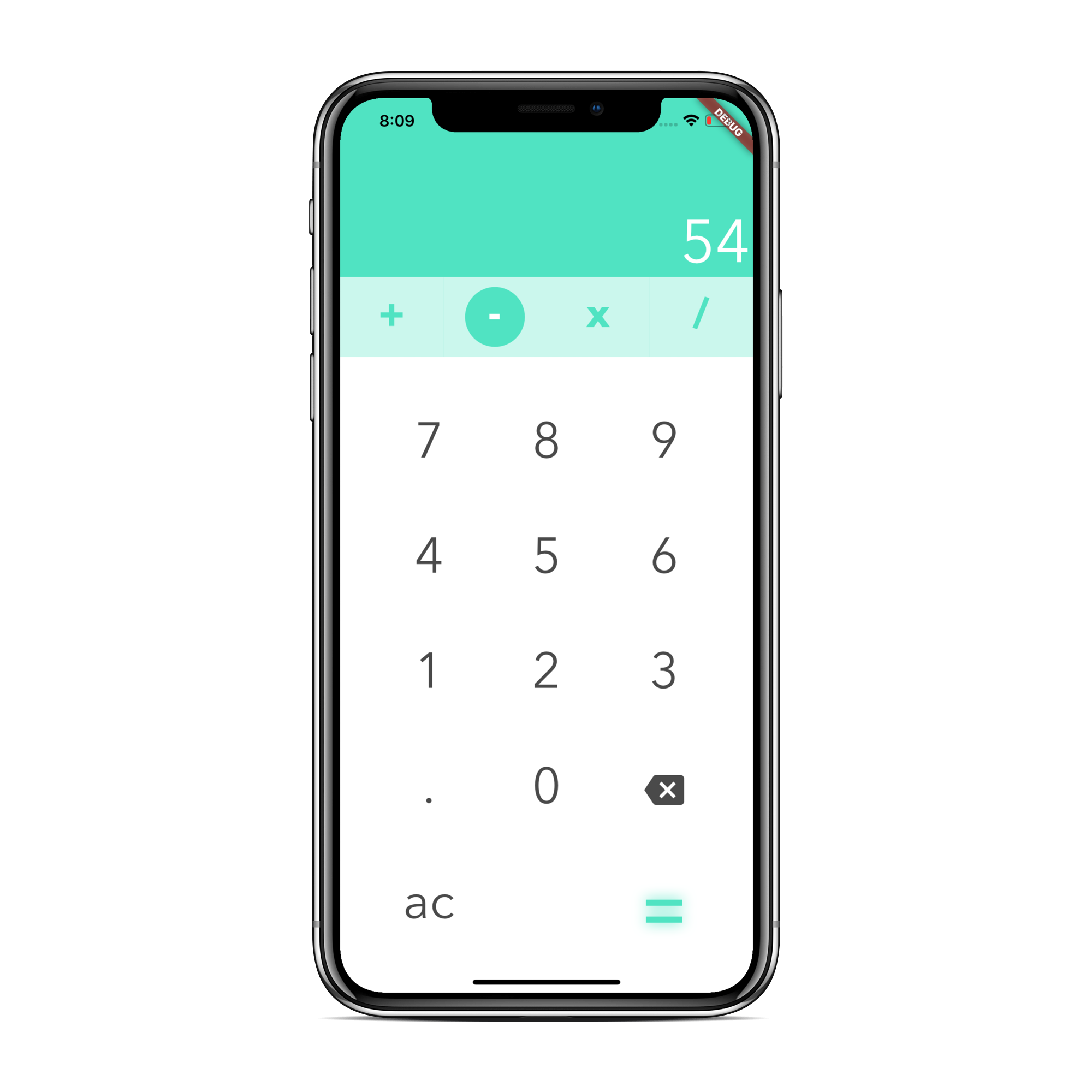 Elegant Calculator Developer In Flutter