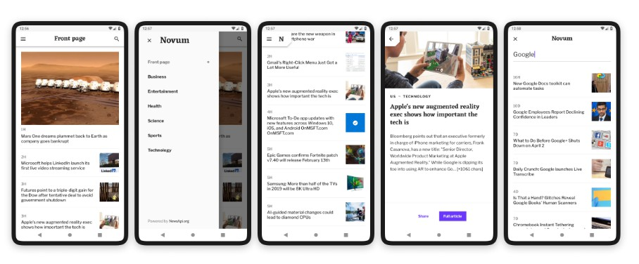A news app built with flutter and inspired by Fortnightly