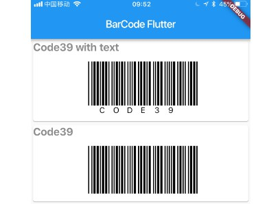 A Flutter library for simple and fast Barcode rendering via custom painter
