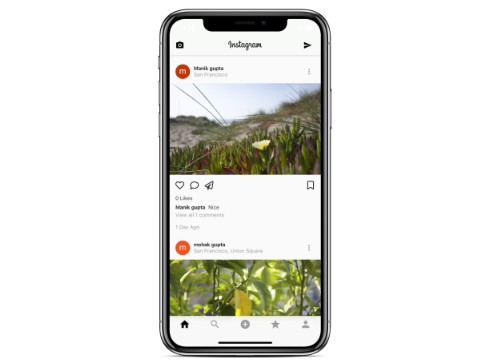 Working Instagram Clone created with Flutter and Firebase