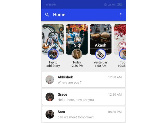 A Chat Messenger built in Flutter