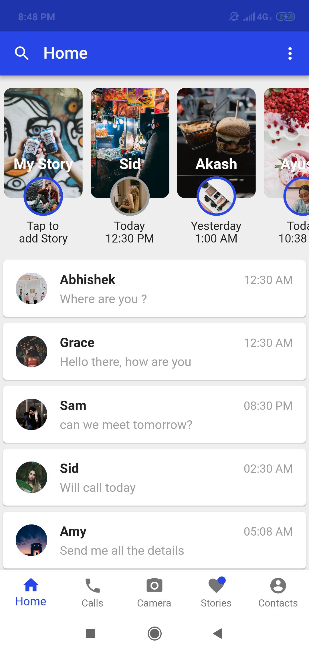 A Chat Messenger built in Flutter