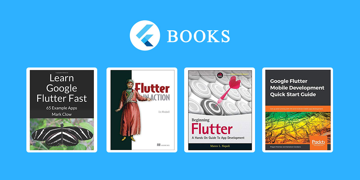The Best Books to learn Flutter for beginner