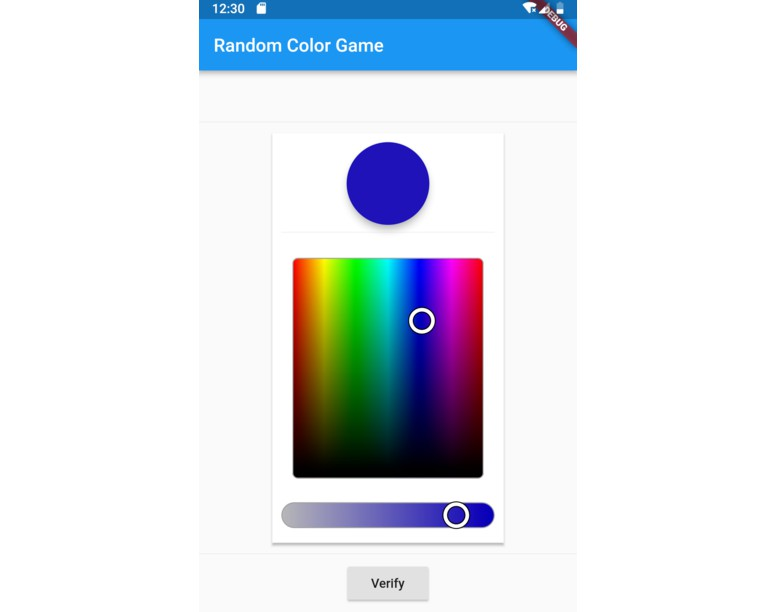 An Android and iOS game about colors made using Flutter