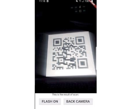 QR Code Scanner for Flutter - code4flutter