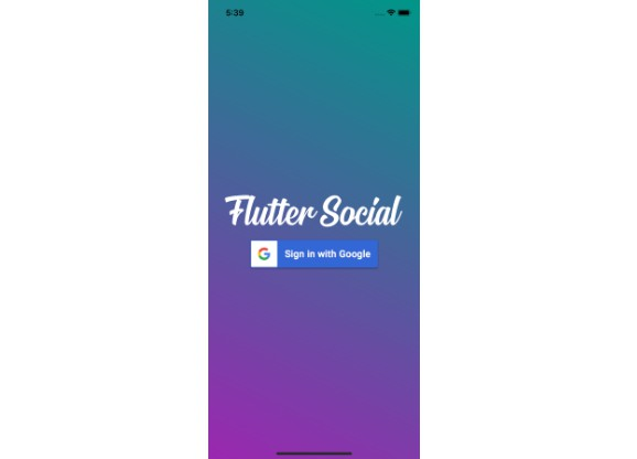 Social Network with Flutter and Firebase