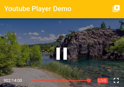 Flutter plugin for playing or streaming YouTube videos inline