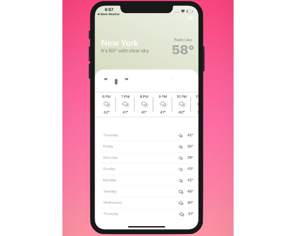 A Sleek Weather App With Flutter