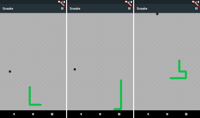 A small and very simple clone of the classic snake game from Nokia phones