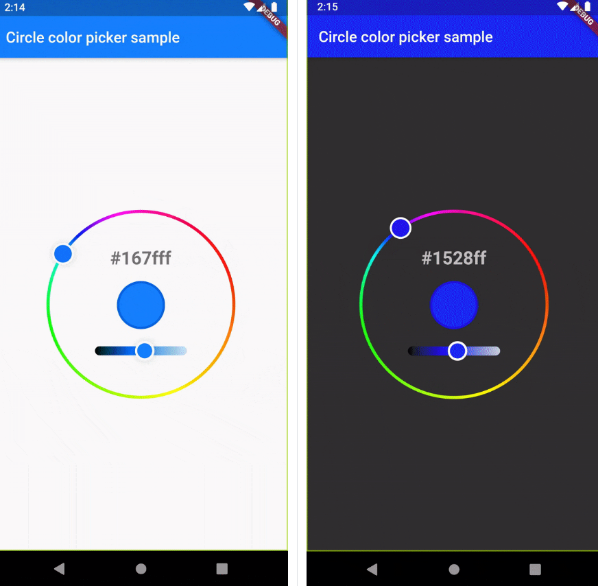 A beautiful circle color picker for flutter
