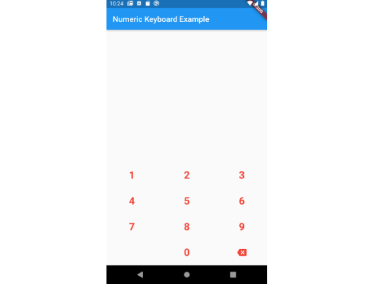 Flutter plugin to display a simple numeric keyboard on Android & iOS