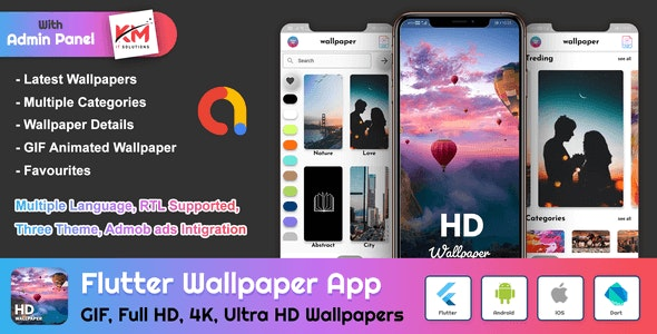 Flutter-HD-Wallpapers-App-With-Admin-Panel