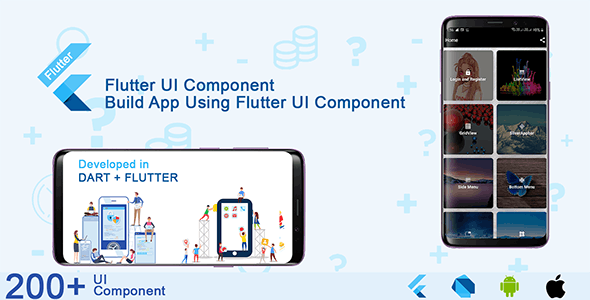 Flutter-ui-component-and-material-design-kit