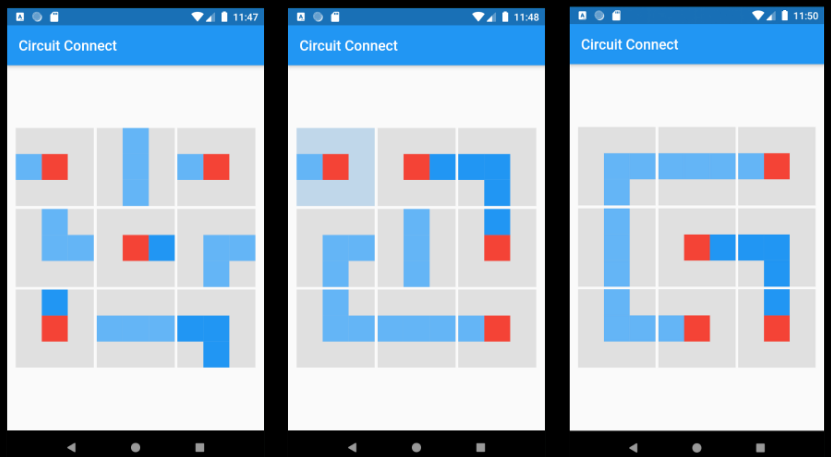 A Grid Circuit Puzzle App With Flutter
