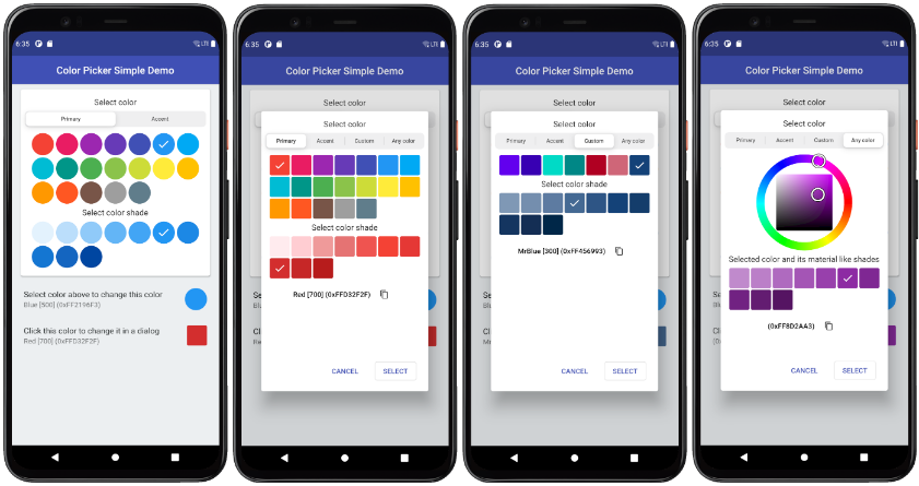 A highly customizable Flutter color picker