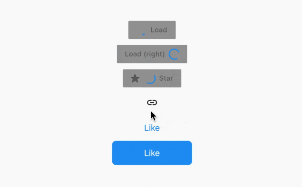 Customizable Material and Cupertino buttons with progress indicators for flutter