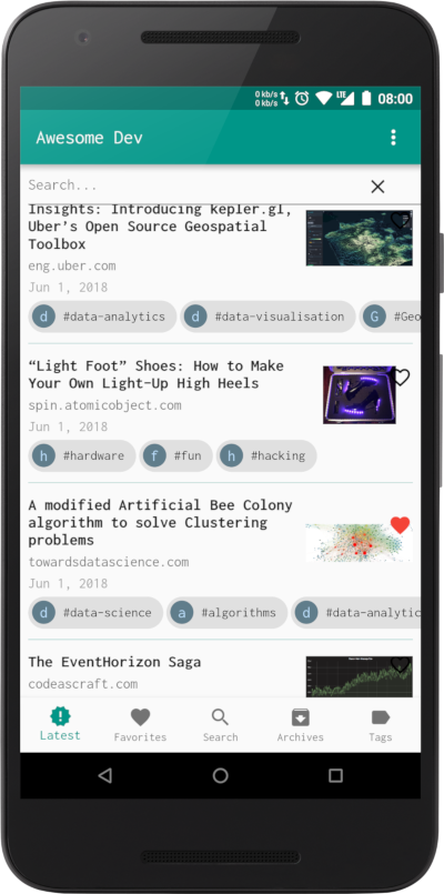 A Dev Feed News App With Flutter